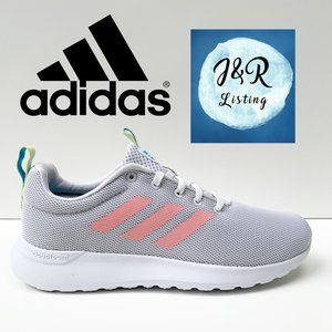 Adidas Lite Racer CLN Gray Running Shoes Size 8